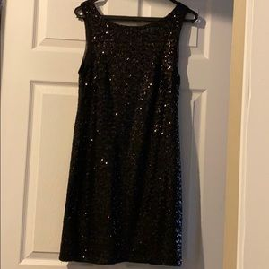 Pull&Bear - Black Sequin Dress